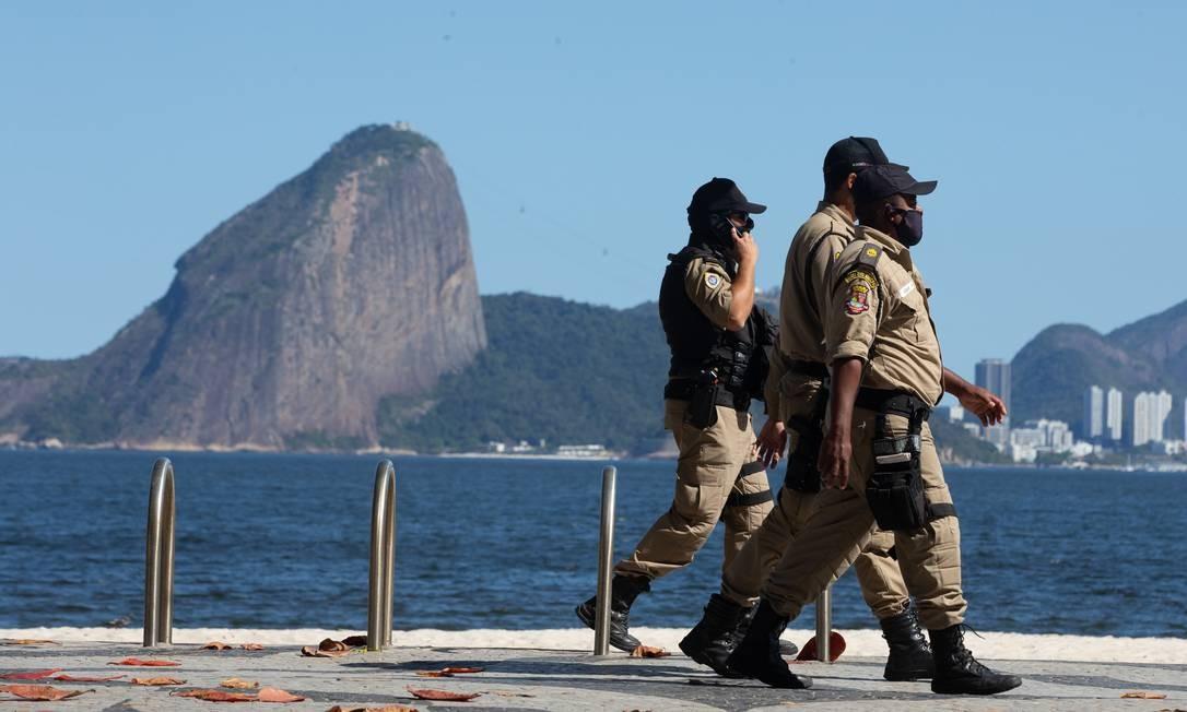 Guarda Municipal Foto: Roberto Moreyra / Agência GLOBO