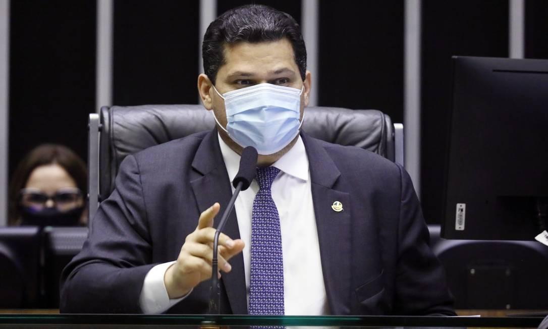 Presidente Davi Alcolumbre comanda sessão do Congresso Nacional Foto: Maryanna Oliveira / Câmara dos Deputados