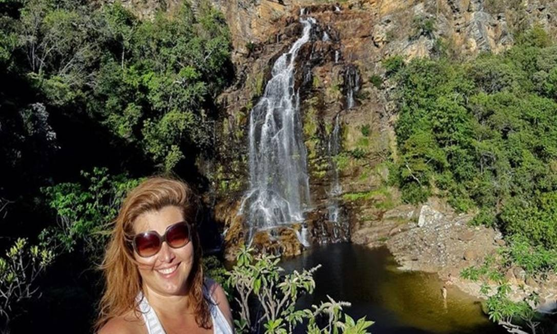 A bióloga Renata Campos, que alugou casa na Serra do Cipó, em Minas Gerais Foto: Acervo Pessoal