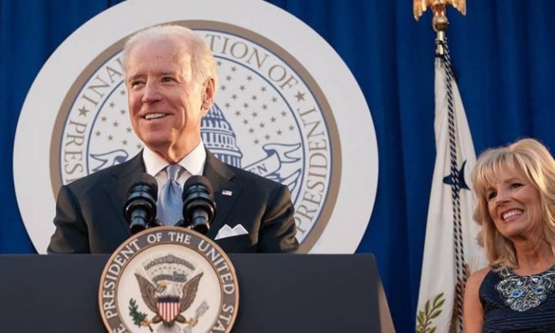 Joe Biden como vice-presidente dos EUA Foto: Divulgação