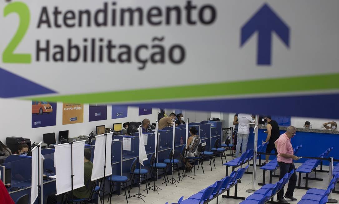 Detran libera aulas teóricas online em autoescolas Foto: Márcia Foletto / Agência O Globo / 10-10-2020