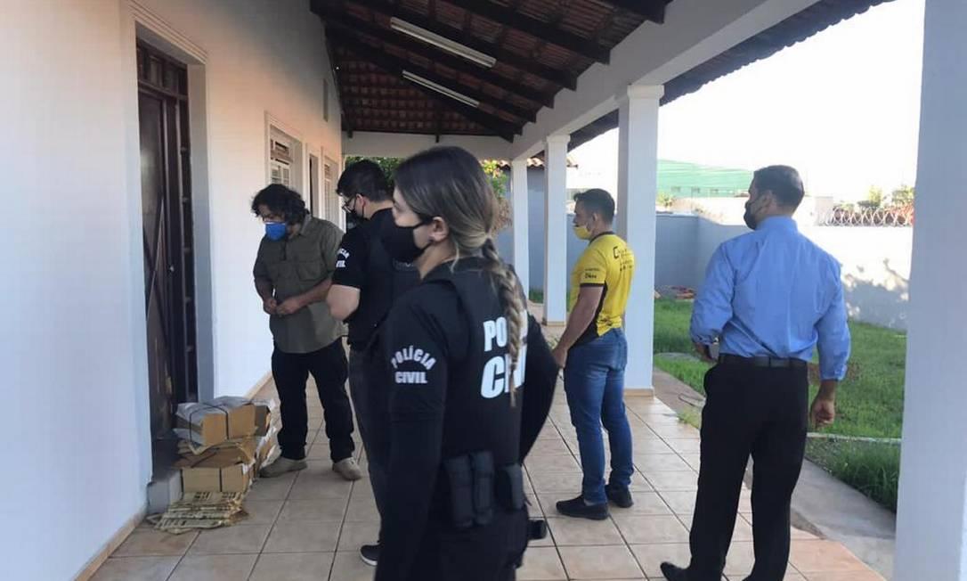 Operação do Ministério Público de Goiás mira instituto recordista de pesquisas Foto: MP-G0
