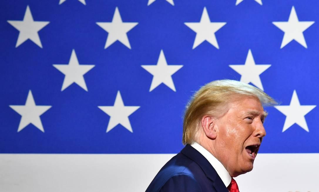 Presidente americano Donald Trump Foto: NICHOLAS KAMM / AFP