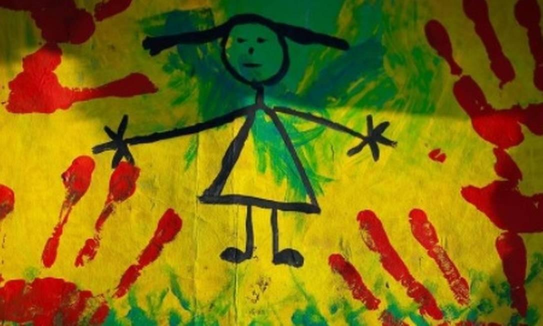 Cartas de ato contra violência infantil na Praça dos Tres Poderes Foto: Pablo Jacob / Agência O Globo