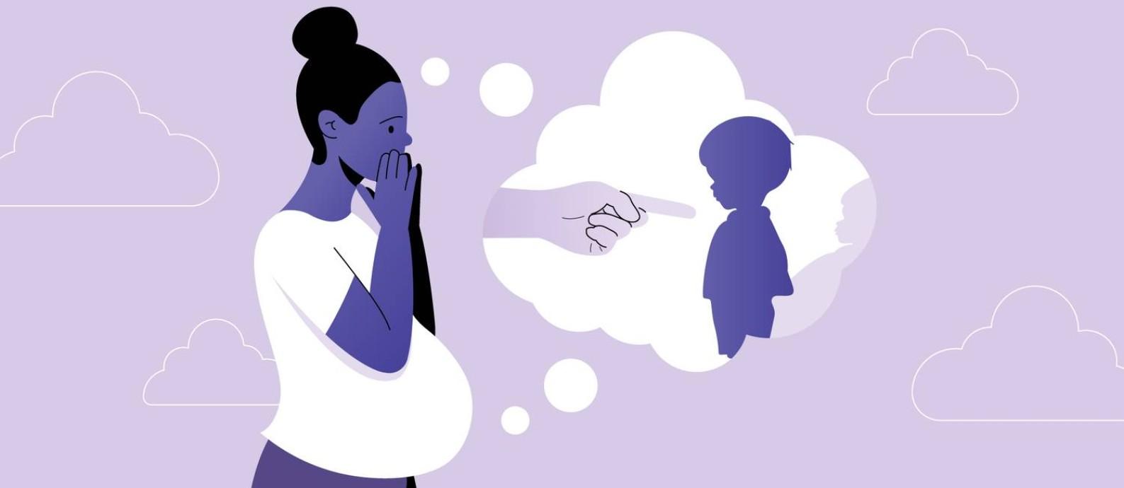Com o afastamento da ideia de que o valor de uma mulher é diretamente relacionado à sua capacidade reprodutiva e atributos maternais, muitas mulheres têm optado por não ter filhos. Entre as mulheres negras, porém, o racismo pode se estabelecer como um fator determinante nessa decisão Foto: Arte de Ana Luiza Costa