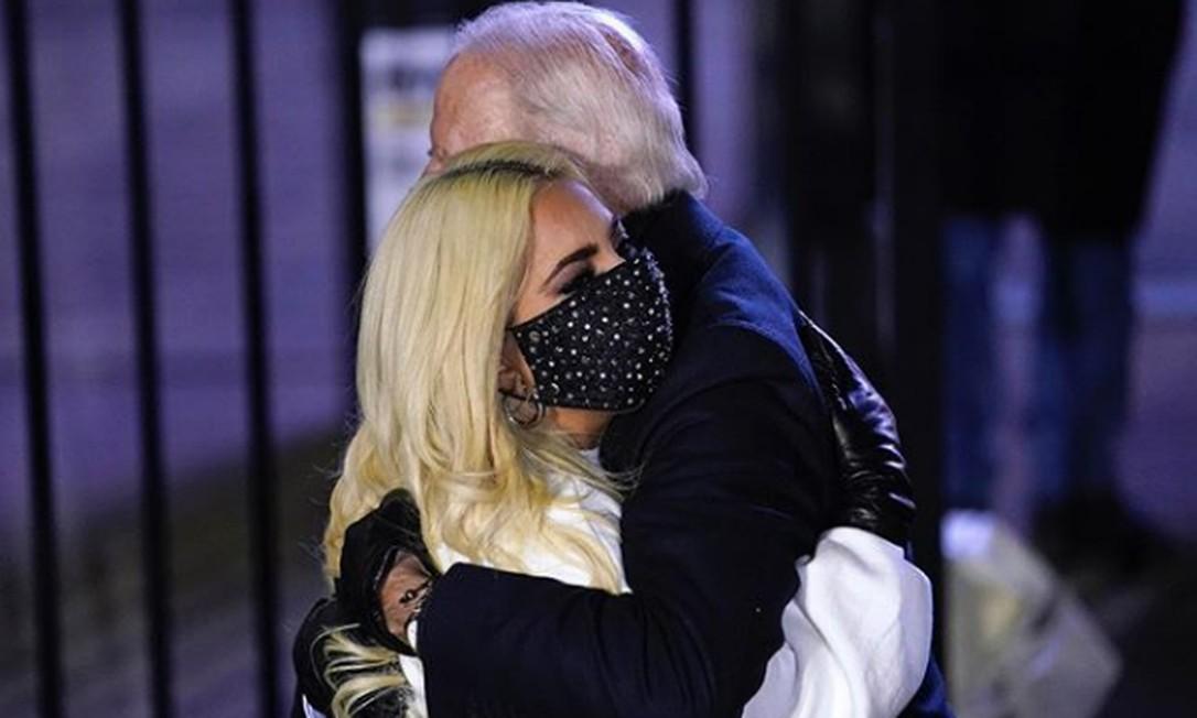 Lady Gaga se emociona com vitória de Biden e diz: 'Isso é muito bom para o mundo' - Jornal O Globo