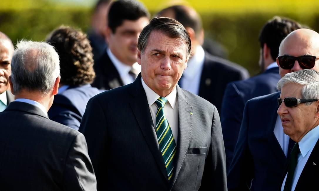 O presidente Jair Bolsonaro 27/10/2020 Brazilian President Jair Bolsonaro Foto: EVARISTO SA / AFP