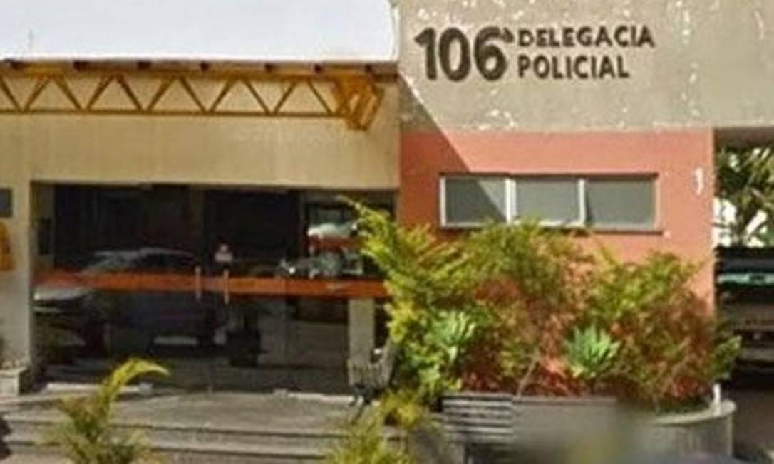 Fachada da delegacia de Itaipava Foto: Reprodução