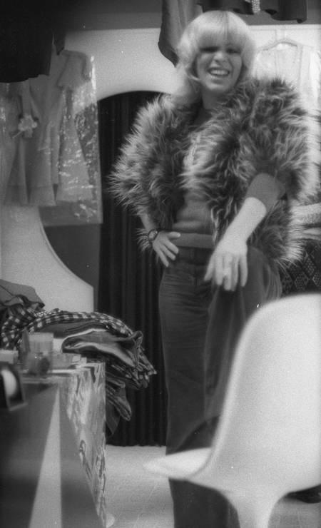 Vanusa em 1972. Cantora nasceu em Cruzeiro, no interior de São Paulo, em 1947 Foto: Arquivo / Agência O Globo