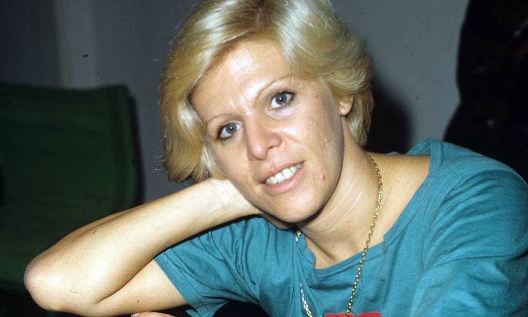 """Vanusa em 1981. Artista também fez aparições no cinema, em filmes como """"Pobre príncipe encantado"""", de Daniel Filho (1969), e """"Com a cama na cabeça"""", de Mozael Silveira (1972) Foto: Adir Mera / Agência O Globo"""