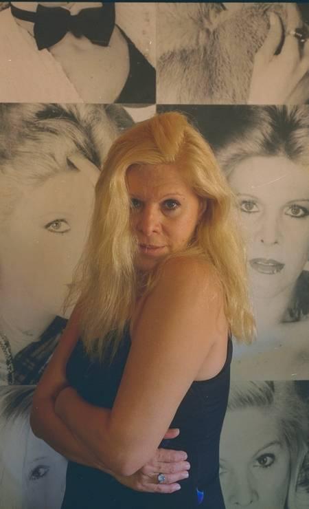 """Vanusa. Estilo romântico marcou trajetória da cantora, que também cantou compositores como Belchior (""""Paralelas"""", em 1974) e Chico Buarque (""""Basta um dia"""", em 1982) Foto: Ana Branco / Agência O Globo"""