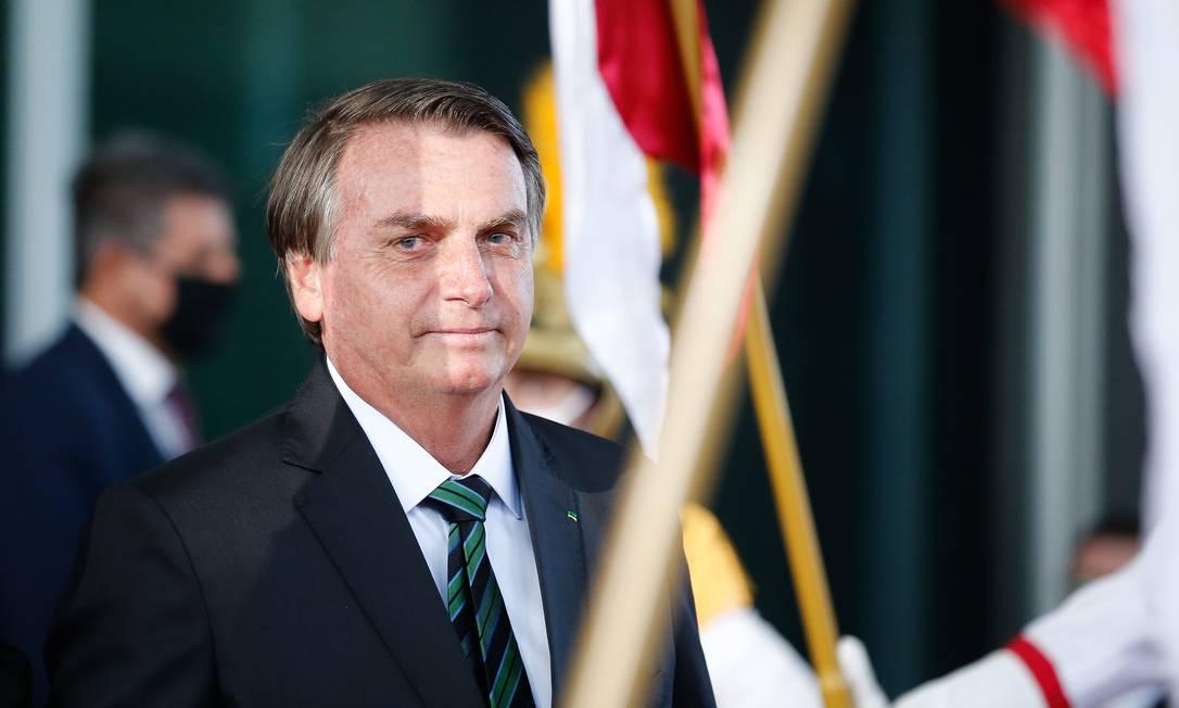 O presidente da República, Jair Bolsonaro Foto: Pablo Jacob / Agência O Globo