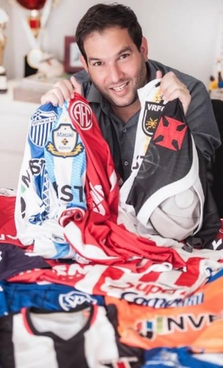 Jonas Jaimovick chegou a patrocinar 24 clubes de futebol Foto: Reprodução