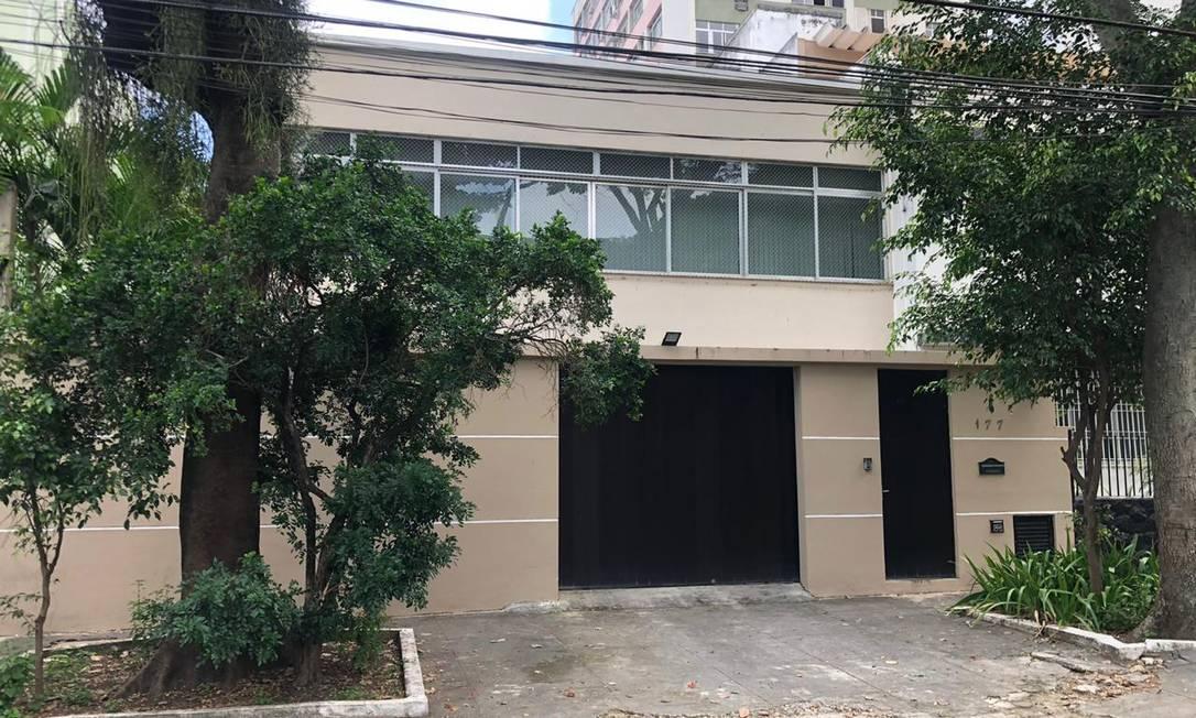 Casa no Grajaú volta a ser o endereço de Witzel e da família após saída do Palácio Laranjeiras Foto: Pedro Medeiros / Agência O Globo