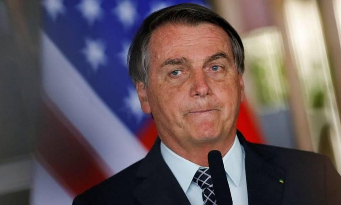 Bolsonaro já declarou que torcia para que Trump ganhasse a eleição Foto: Reuters