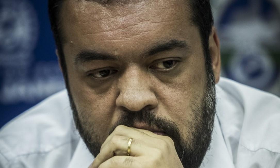 Em busca de diálogo, governador em exercício Cláudio Castro diz que o Rio não sobrevive sem o governo federal Foto: Guito Moreto / Agência O GLOBO