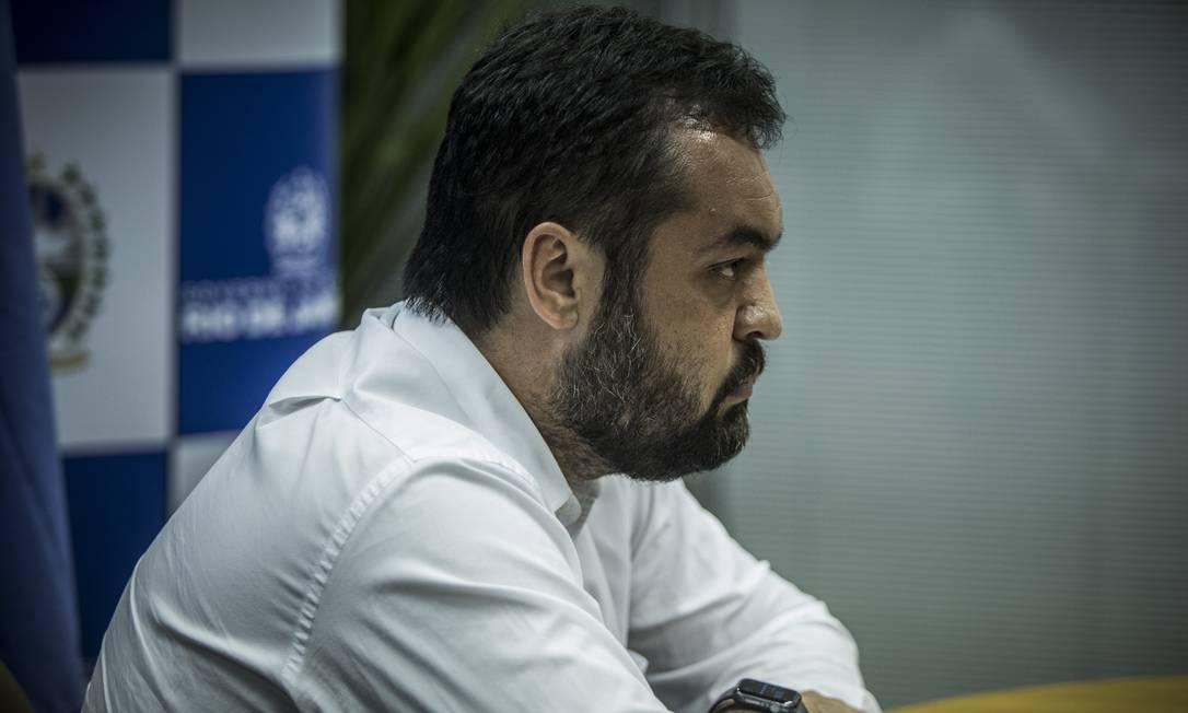 Governador do Rio em exercício, Cláudio Castro Foto: Guito Moreto / Agência O Globo
