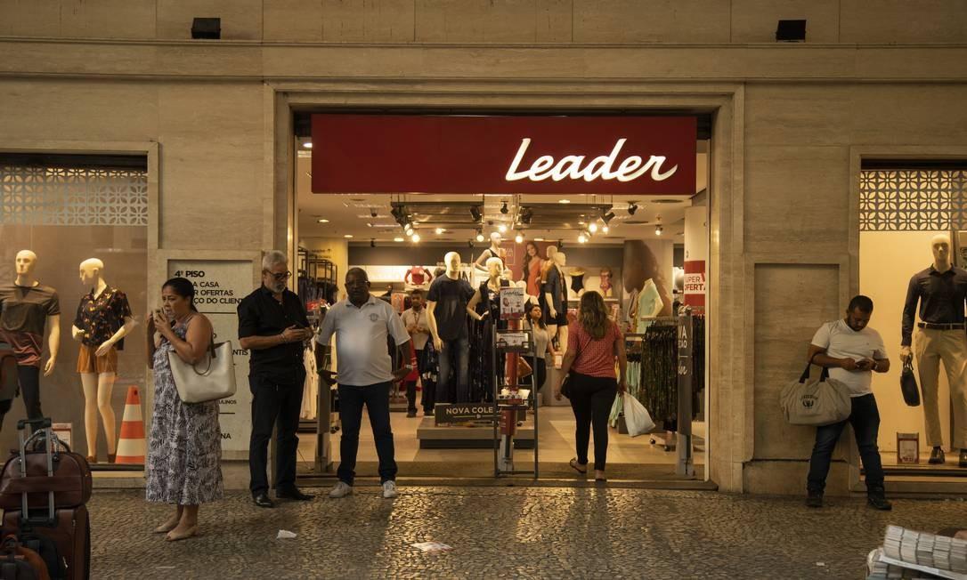 A Leader está reestruturando seus negócios com lojas menores e comércio eletrônico Foto: Gabriel Monteiro / Agência O Globo