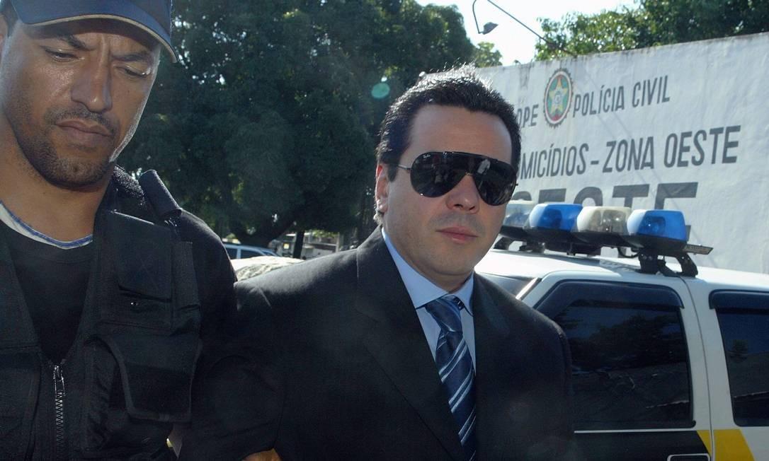Operação Gladiador, deflagrada em dezembro de 2006 pela Polícia Federal, apontou envolvimento de policiais, advogados e contadores com os contraventores Fernando Iggnácio e Rogério Andrade Foto: Fábio Guimarães / Agência O Globo