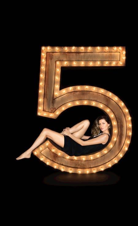 Gisele Bündchen estrelou a campanha do Nº5em 2014 Foto: Divulgação