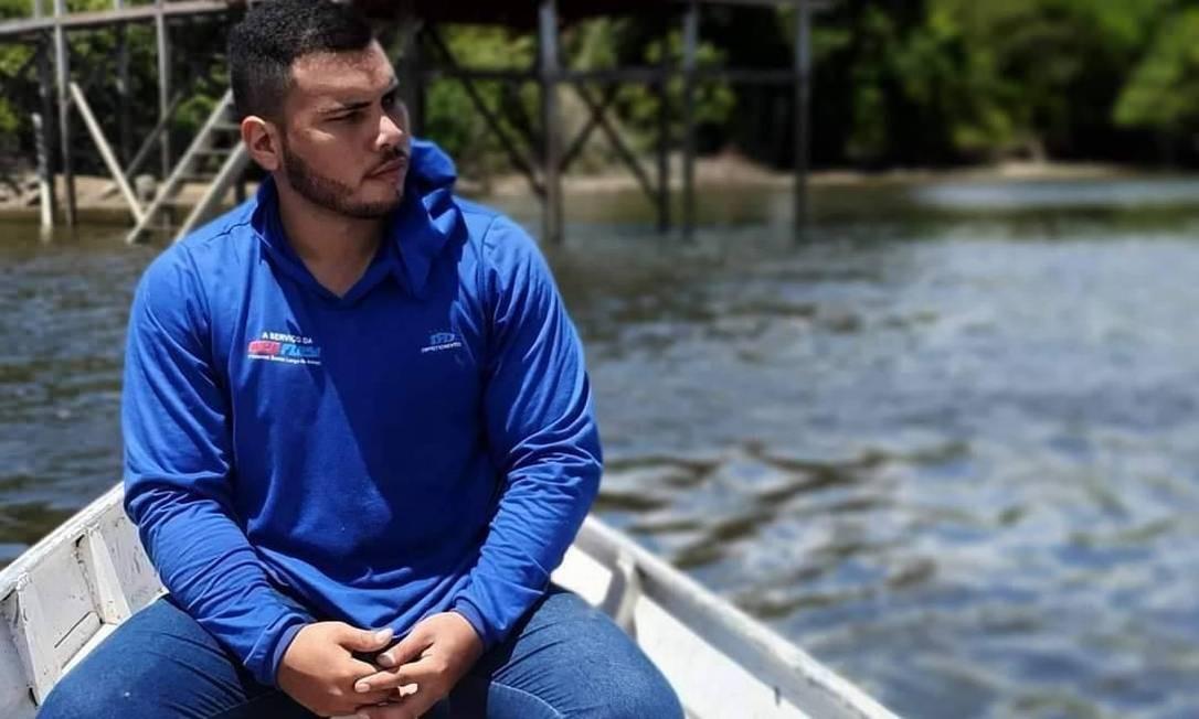O técnico de informática Jehoash Vitor, de 24 anos, morto no último dia 5 Foto: Reprodução