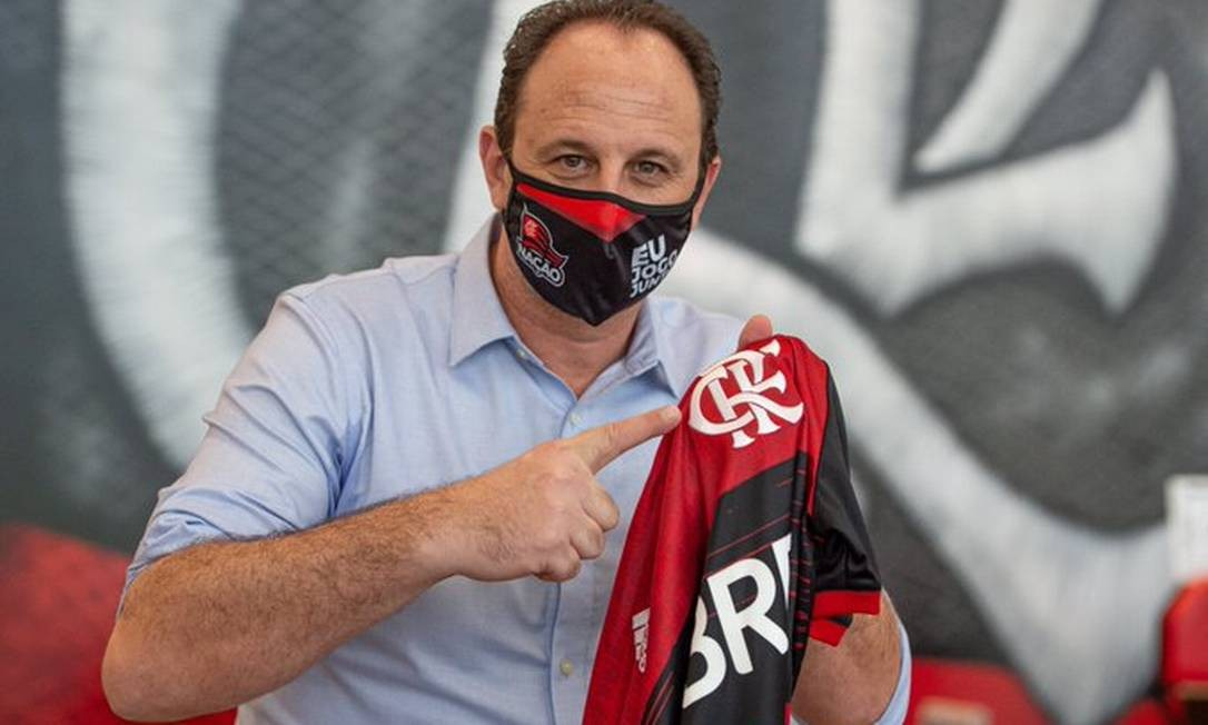 Rogério Ceni no Flamengo Foto: Alexandre Vidal/Flamengo