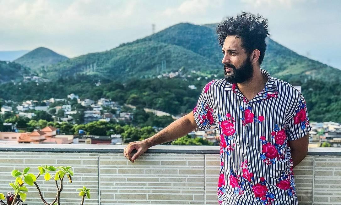 O cineasta e produtor cultural Cadu Barcellos Foto: Redes sociais / Reprodução