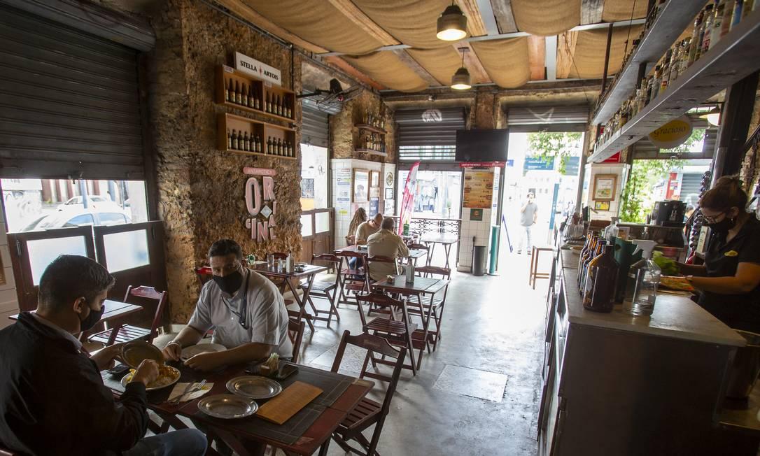 Restaurante Gracioso, na Sacadura Cabra Foto: Antonio Scorza / Agência O Globo