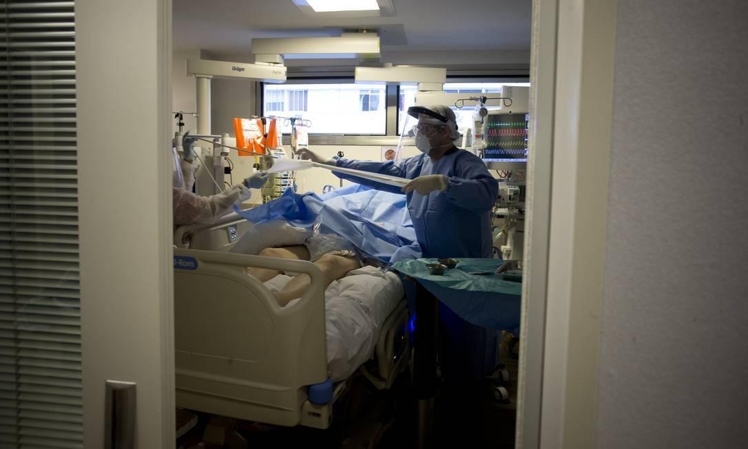 Número de pacientes com suspeita de Covid volta a crescer em São Paulo Foto: Márcia Foletto / Agência O Globo
