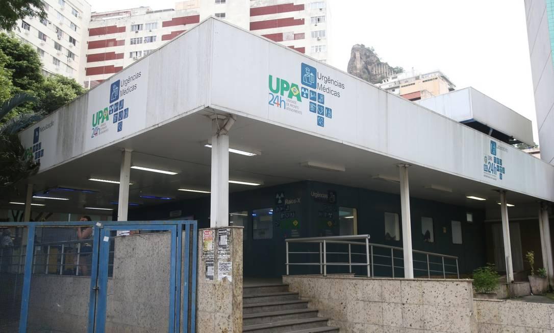 Unidade de Pronto Atendimento (UPA) de Copacabana: pesquisa mostra que houve aumento de testes positivos para a doença Foto: Pedro Teixeira / Agência O Globo