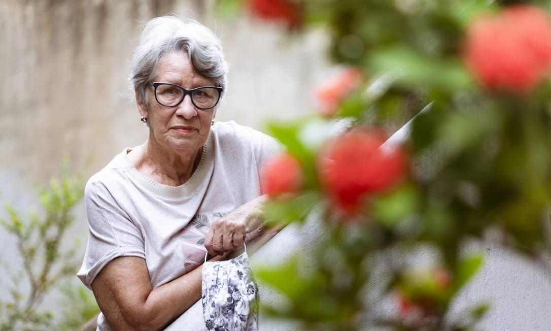 Maria Isaura Brandão pretende não ir às urnas votar por ser de grupo de risco Foto: Leo Martins / Agência O Globo