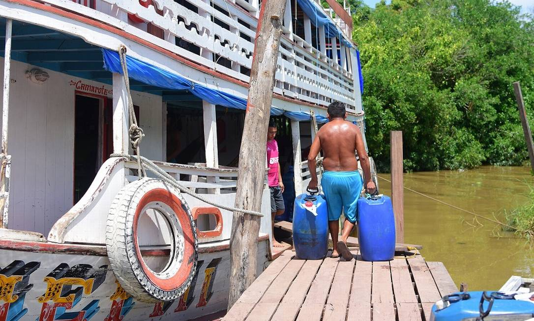 Dificuldade de obter água tratada está causando doenças no Amapá. Foto: Amanda Carvalho / Agência O Globo