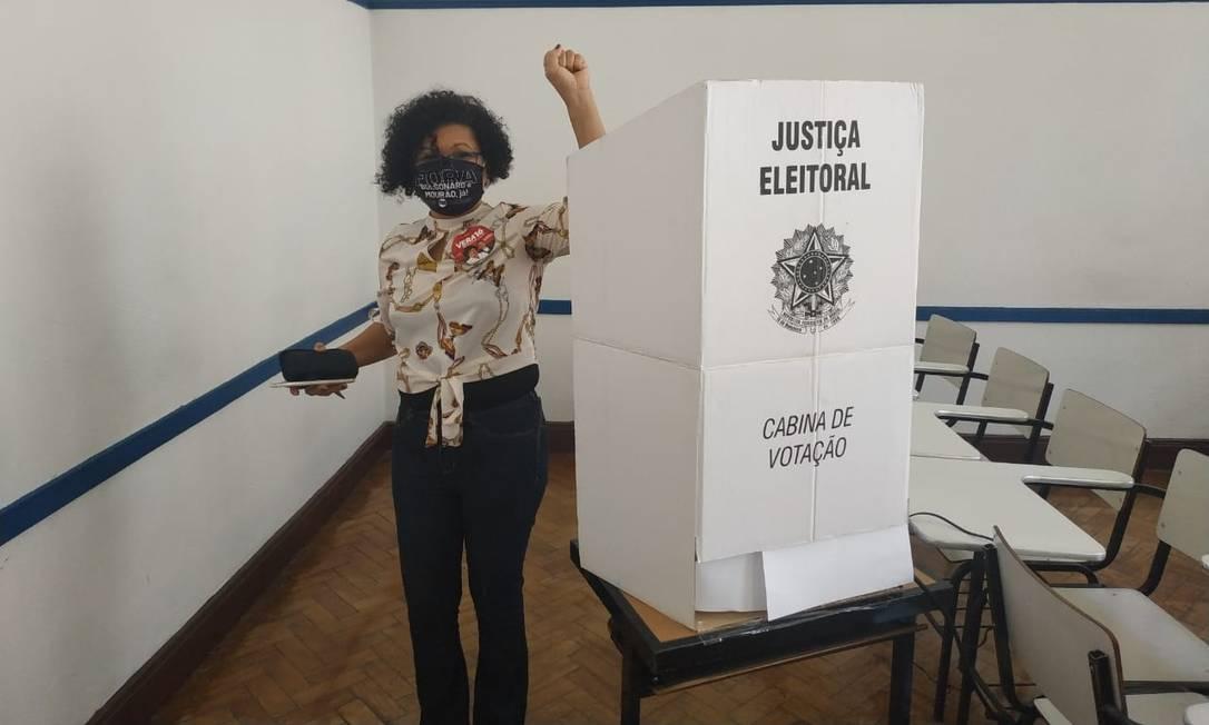 Vera Lúcia (PSTU), candidata à prefeitura de São Paulo Foto: Divulgação