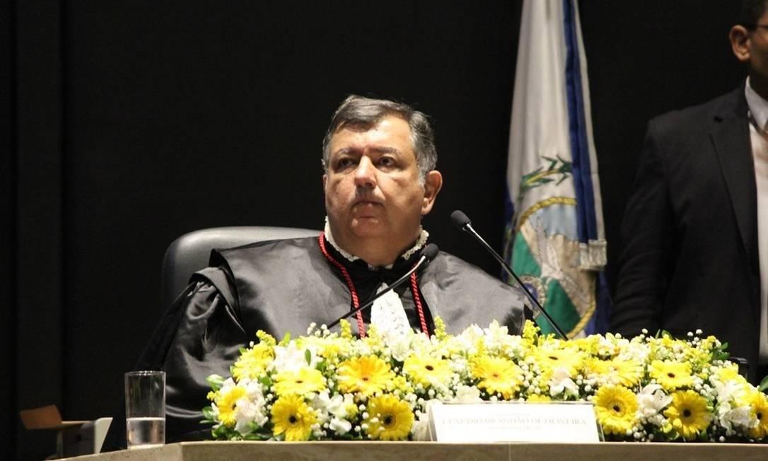 O presidente do Tribunal Regional Eleitoral (TRE-RJ), Cláudio Brandão de Oliveira Foto: Divulgação