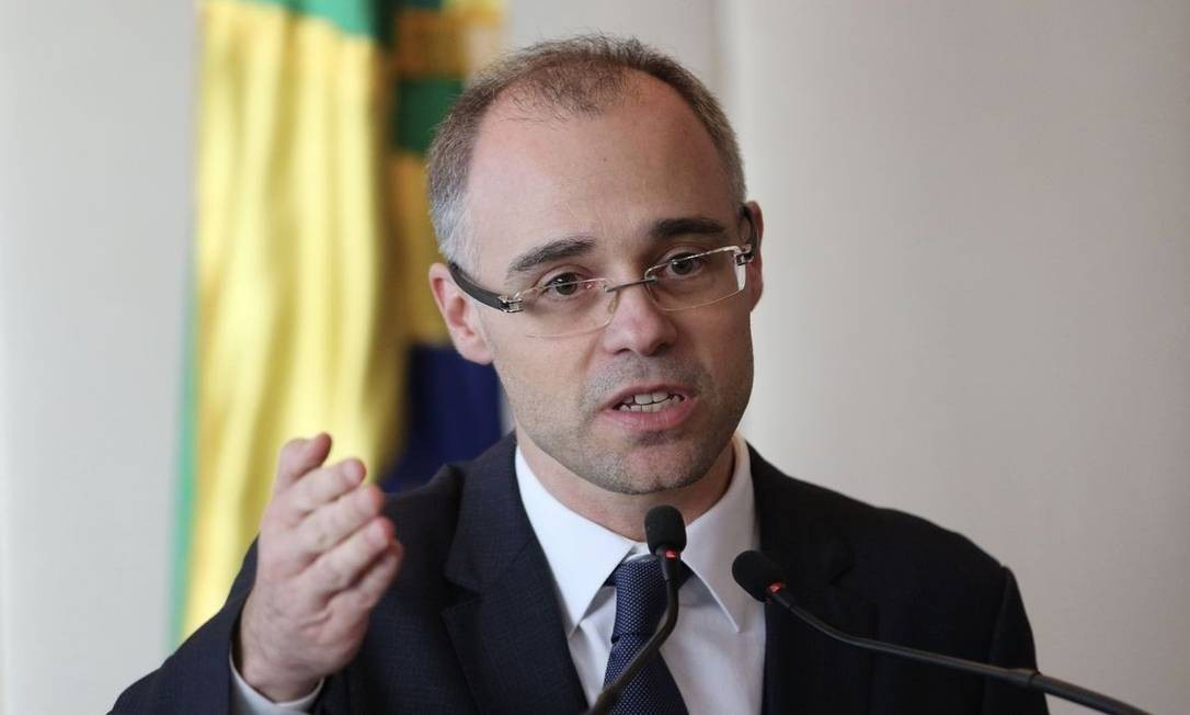 O ministro da Justiça, André Mendonça Foto: Fábio Rodrigues Pozzebom/Agência Brasil