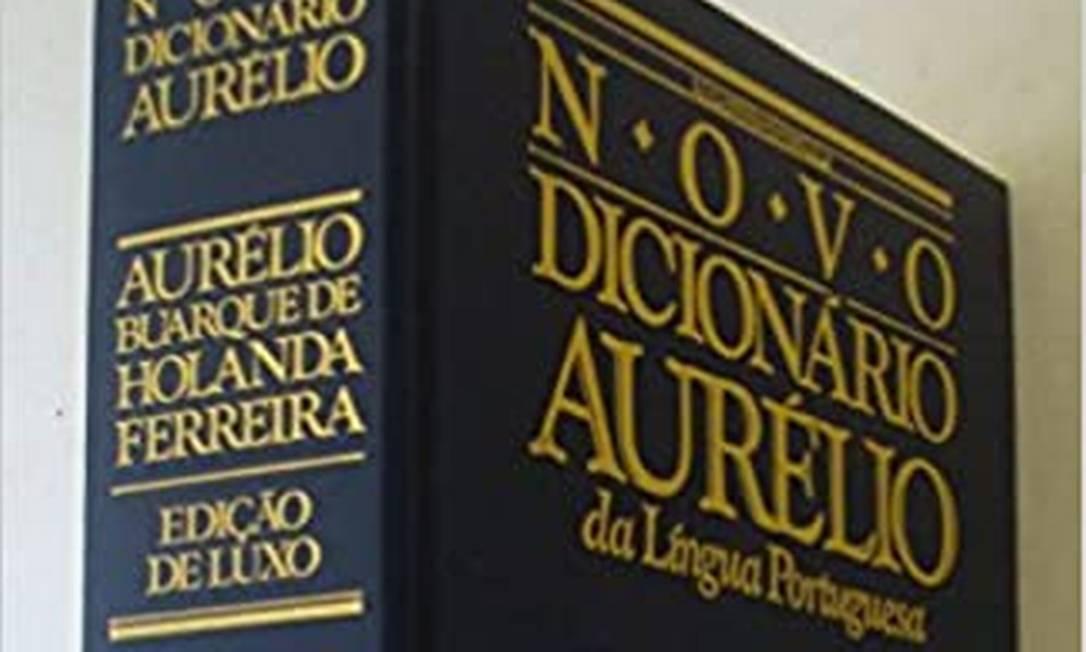 Dicionário Aurélio vendeu mais de 15 milhões de cópias Foto: reprodução