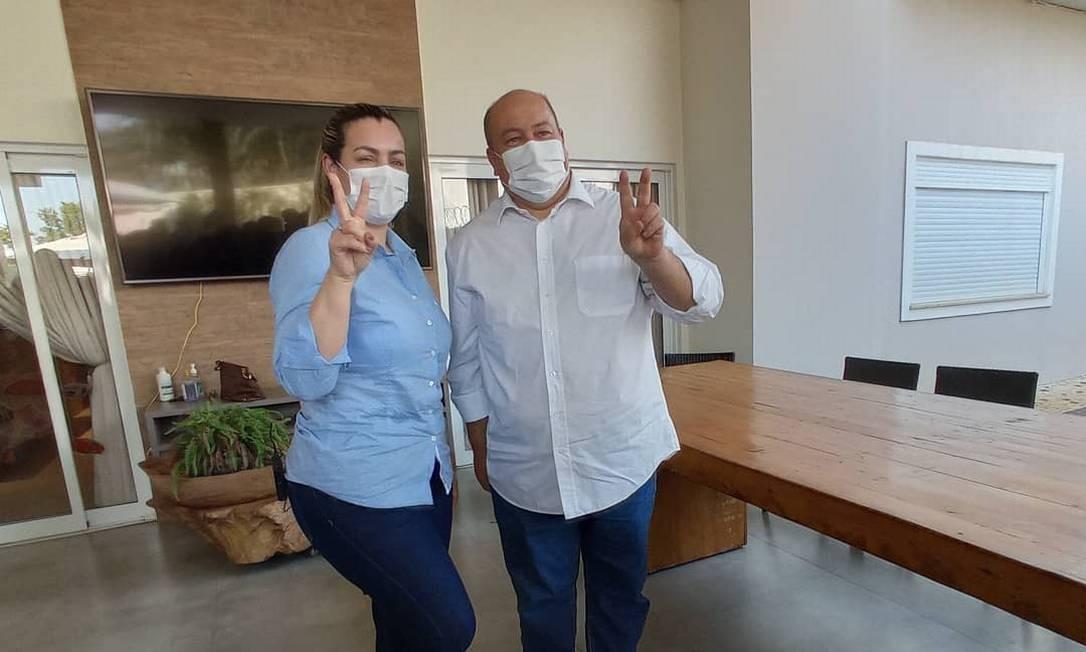 Cinthia Ribeiro (PSDB) foi reeleita em Palmas Foto: Reprodução