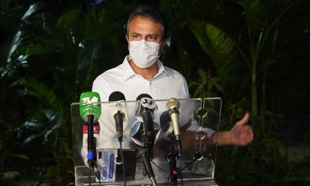 Governador do Ceará, Camilo Santana (PT) Foto: Divulgação