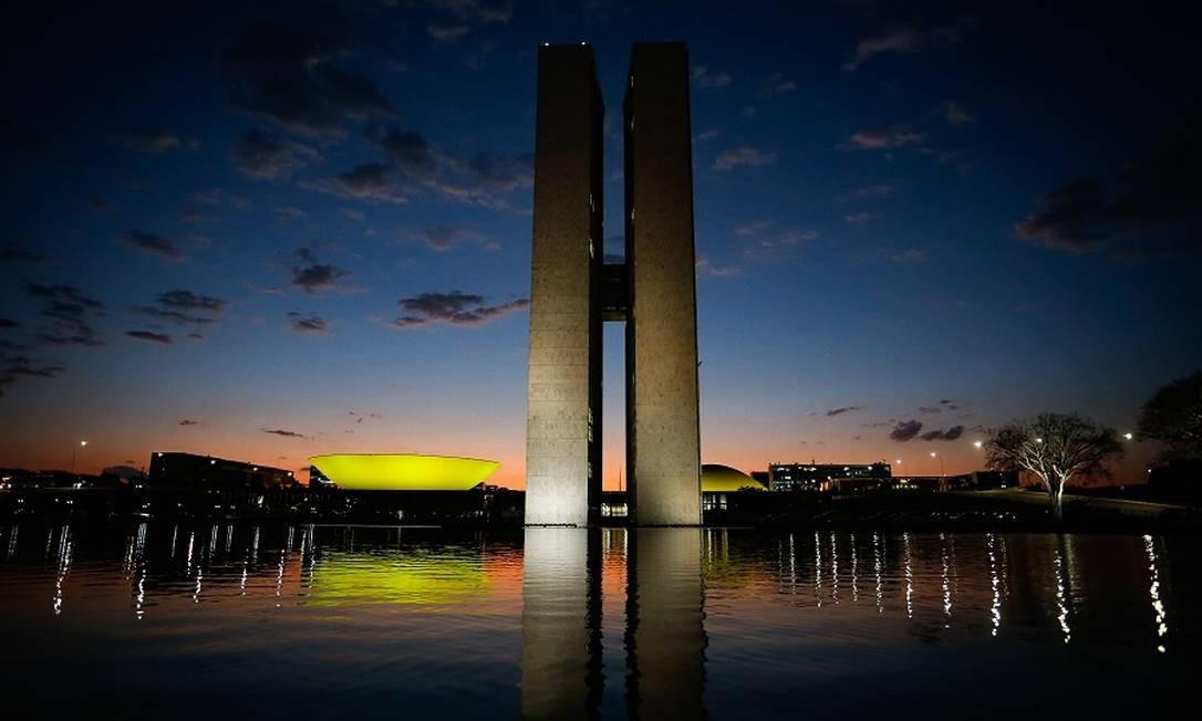 Congresso Nacional: reunião para pauta pós-eleições Foto: Pablo Jacob / Agência O Globo