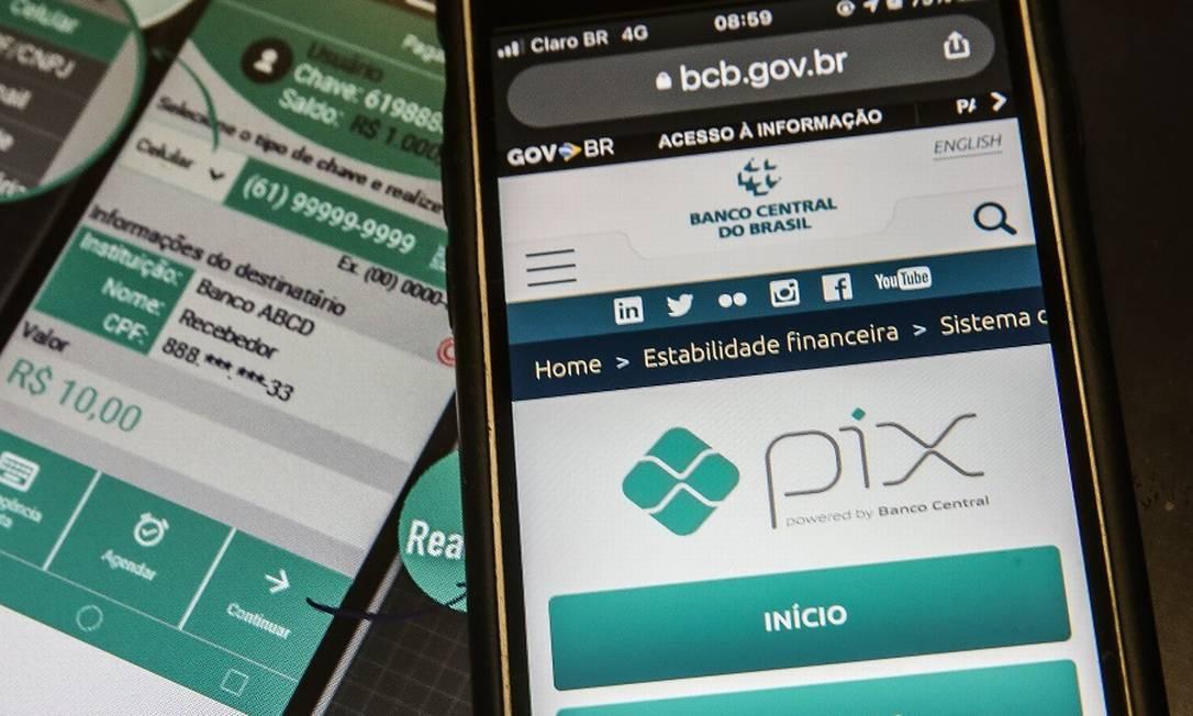 Pix: novidade aumentará concorrência entre bancos e fintechs Foto: Marcello Casal Jr / Agência Brasil