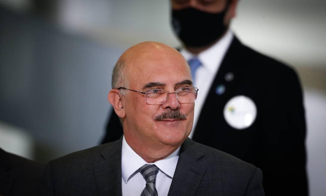 Ministro da Educação, Milton Ribeiro. Foto: Pablo Jacob / Agência O Globo