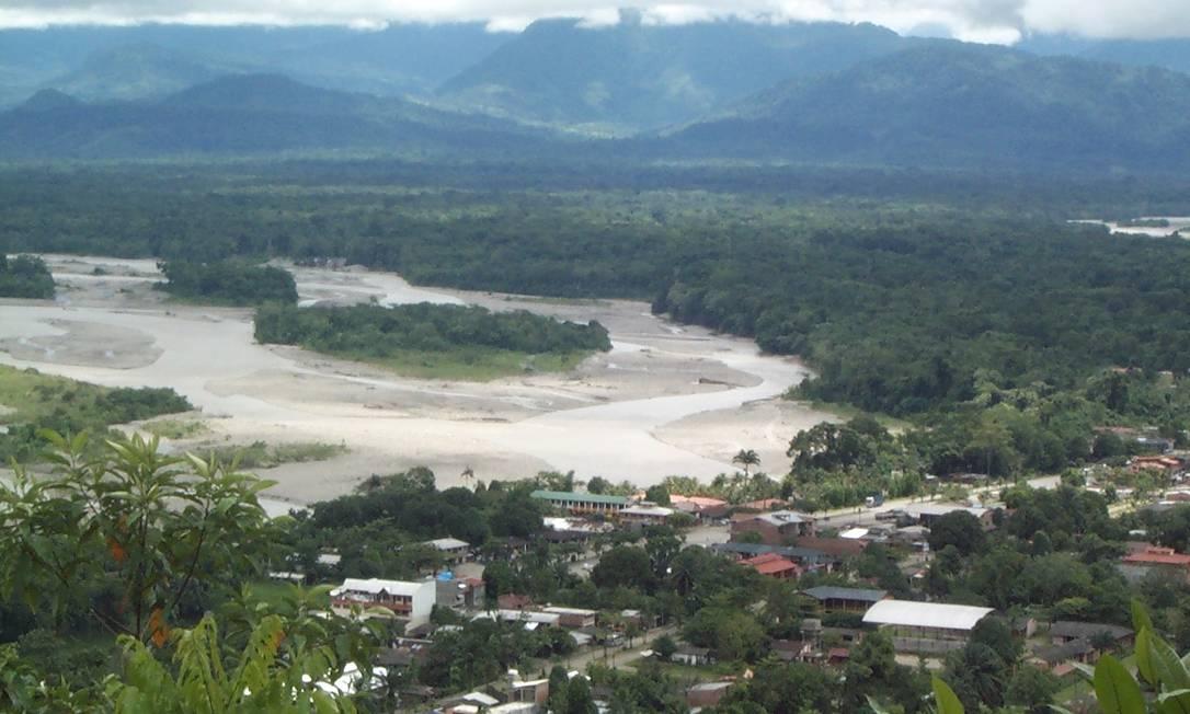 O vale do rio Chapare, na Bolívia, que dá nome ao vírus causador do surto ocorrido em 2019 Foto: Daniela Zubieta/CC