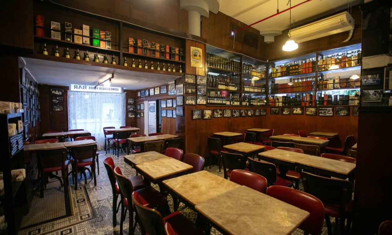 O Villarino era uma mistura de delicatessen e bar Foto: Brenno Carvalho em 22/07/2019 / Agência O Globo