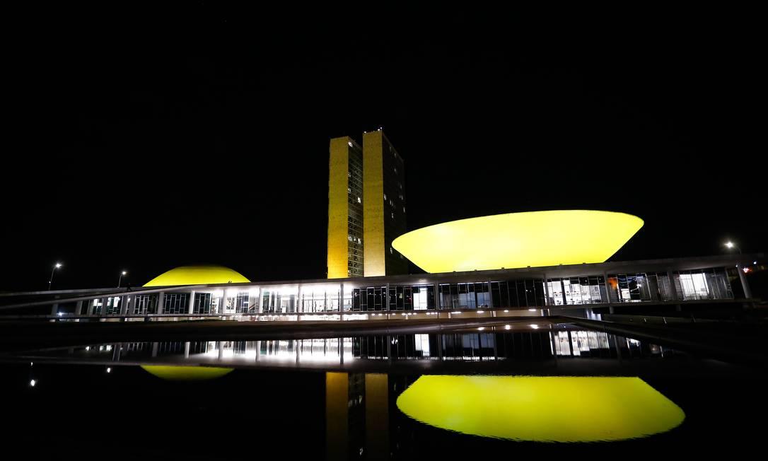 Prédio do Congresso Nacional, em Brasília Foto: Pablo Jacob / Agência O Globo