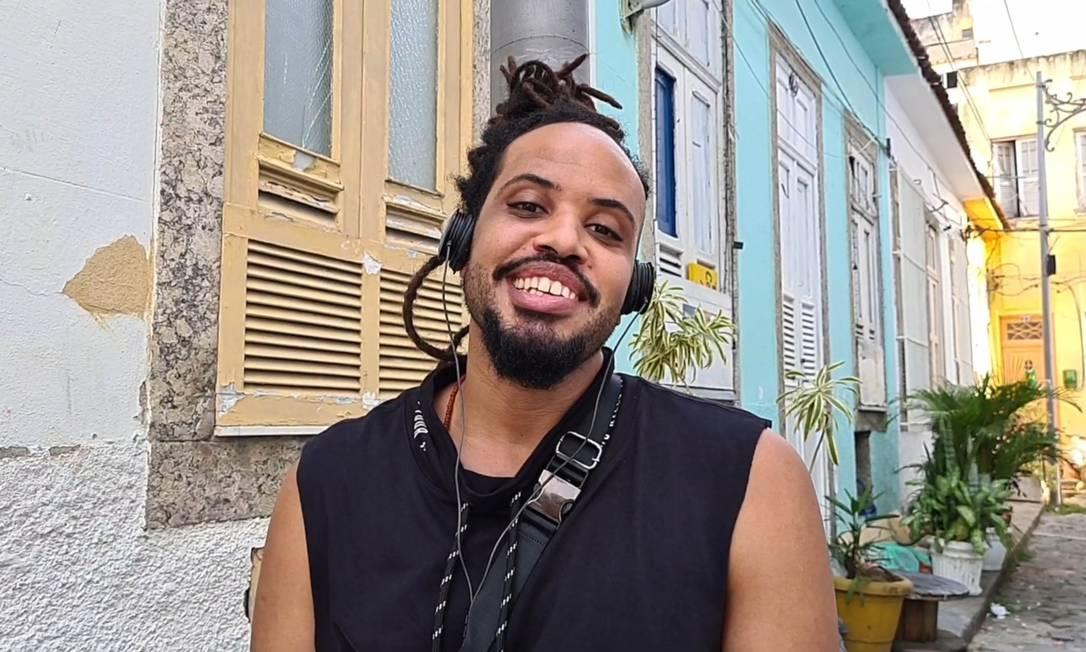 Cantor, compositor e produtor cultural, Muato criou projeto musical sobre o amor preto Foto: Divulgação