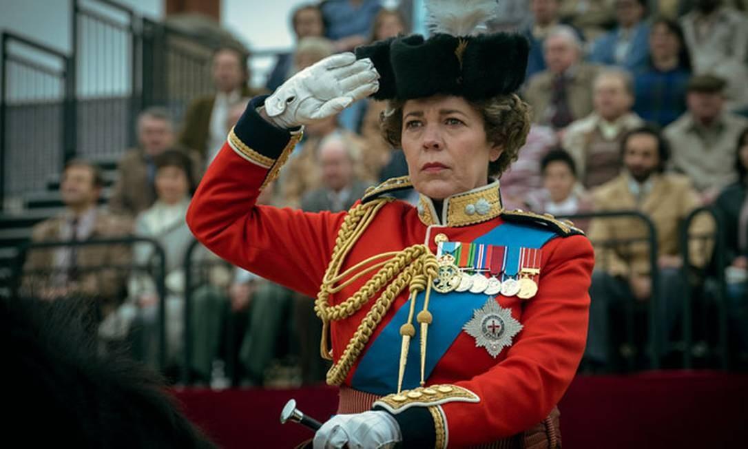 Olivia Colman interpreta a rainha Elizabeth II na 4ª temporada de 'The Crown' Foto: Divulgação