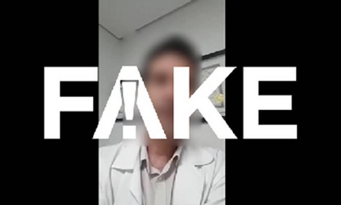 """É #FAKE que máscaras tenham baixa filtragem de vírus e faça """"mais mal do que bem"""" Foto: Reprodução"""