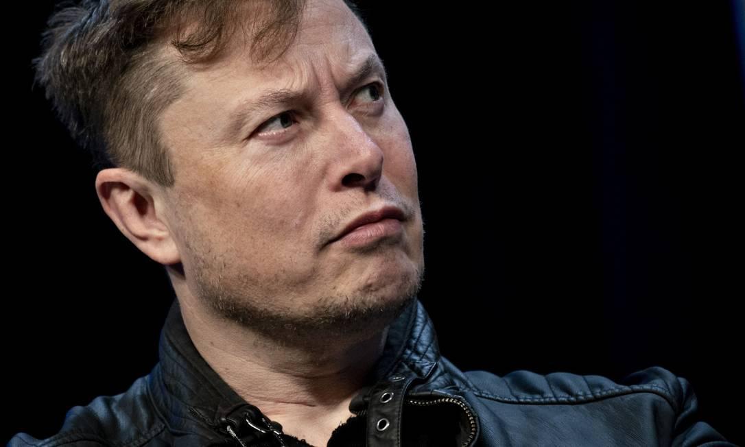 O fundador da SpaceX e diretor executivo da Tesla, Elon Musk Foto: Andrew Harrer / Bloomberg