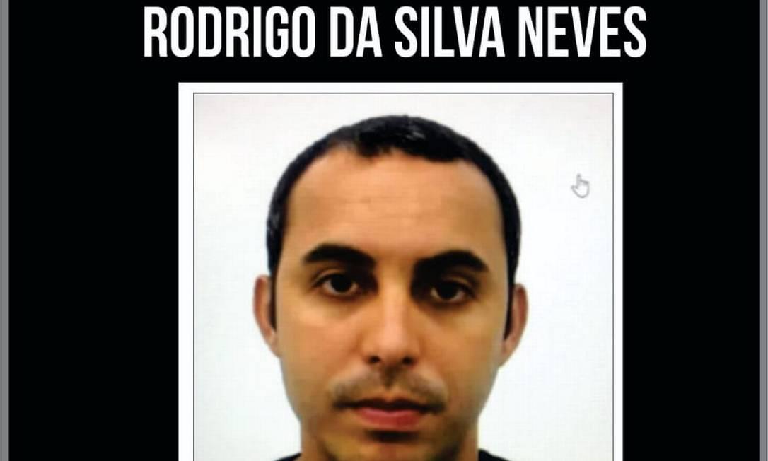 Rodrigo da Silva Neves é suspeito de participar da morte de Fernando Iggnácio Foto: Divulgação