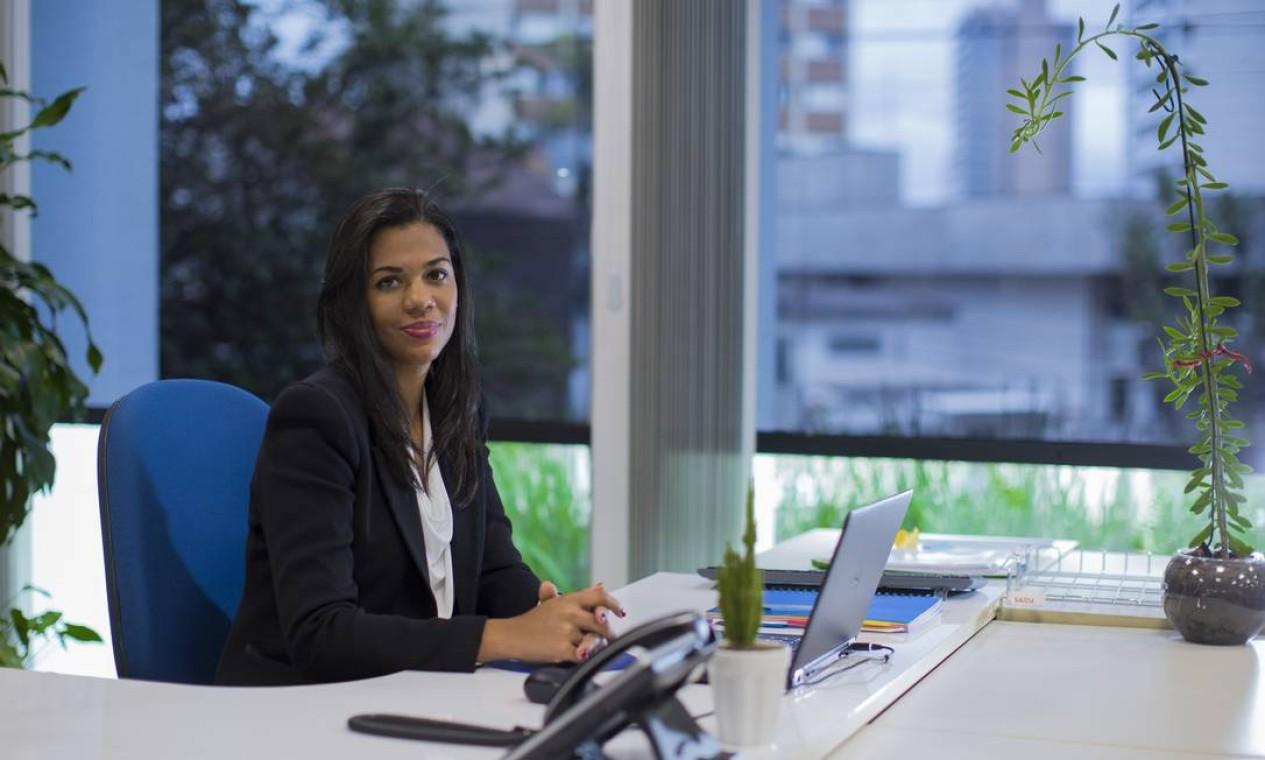 Chantal Pillet, diretora de Compliance do Grupo Carrefour Brasil Foto: Edilson Dantas / Agência O Globo
